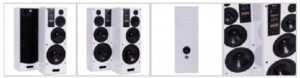 Radiotehnika S400M gloss white