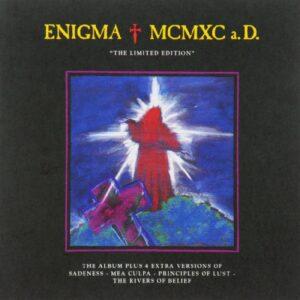 Первый альбом Enigma MCMXC - limited edition