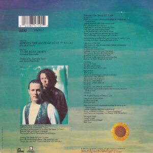 """Сингл """"Sowing the Seeds of Love"""" группы Tears for fears из альбома """"The Seeds of Love"""""""