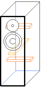 Двухполосная напольная акустическая система